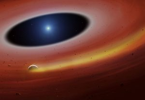 Heavy Metal Planet Fragment Discovered