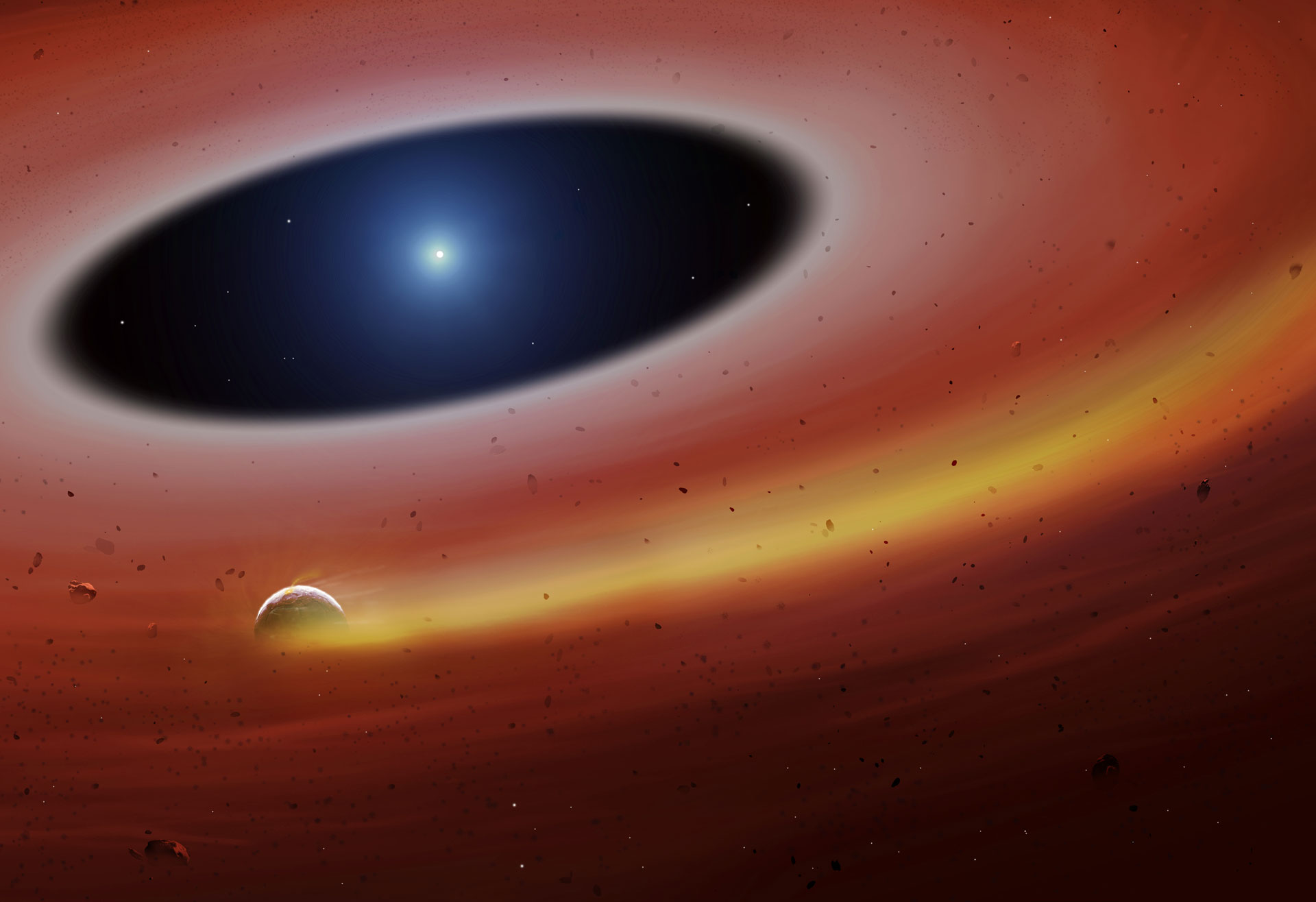 Distant destroyed planet offers terrifying glimpse into planet's future — Earth APOCALYPSE