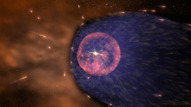 Heliosphere Pelted With Cosmic Rays