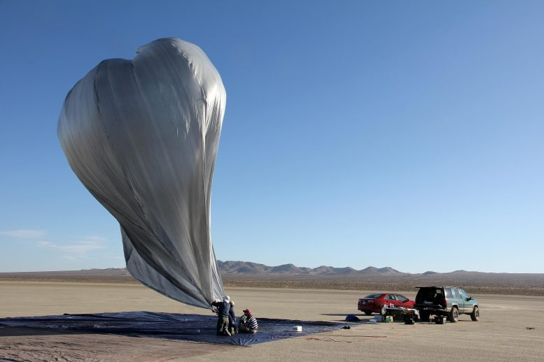 Heliotrope Balloon JPL and Caltech Researchers