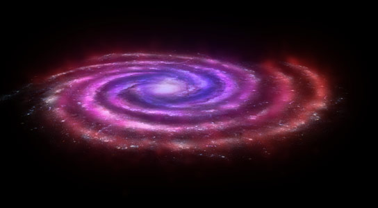 Herschel Discovers Molecular Gas Across the Plane of the Milky Way