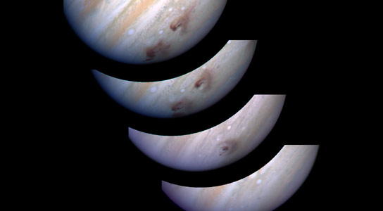 Herschel Solves Mystery of Origin of Water in the Upper Atmosphere of Jupiter