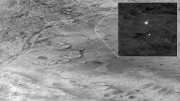 HiRISE Captured Perseverance During Descent to Mars