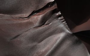 HiRISE Views Gullies on Martian Sand Dunes