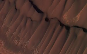 HiRISE Views Martian Dunes in Northern Summer