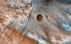HiRISE Views a Mass of Viscous Flow Features on Mars