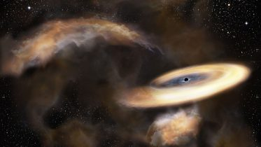 Astronomers Detect Hidden Black Hole Lurking at Galactic Center