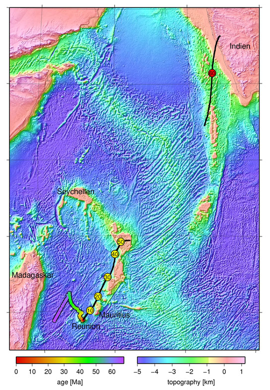Hidden Continents Under Lava in the Indian Ocean