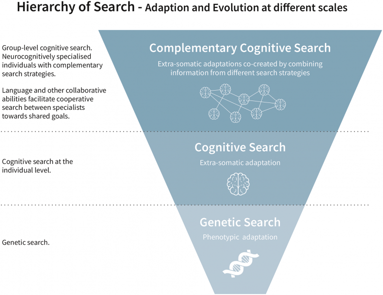 Hierarchy of Cognitive Search