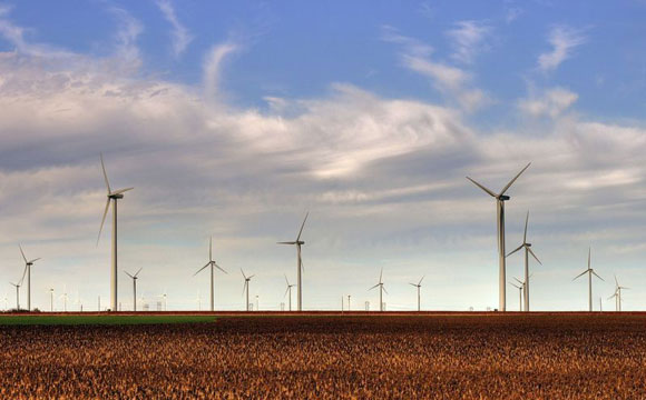 High Density Wind Farms Generate Less Electricity Than Previously Thought