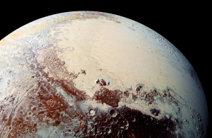 High-Resolution Image of Pluto from NASA