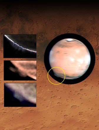 Highest Plume Ever Observed on Mars