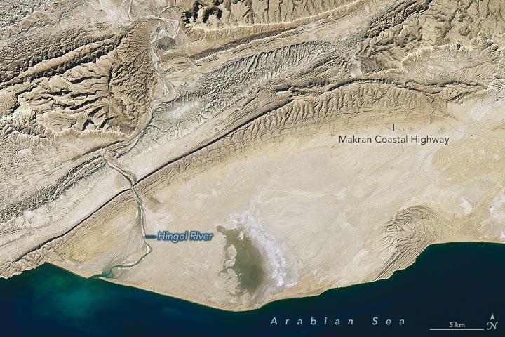 Hingol National Park Annotated