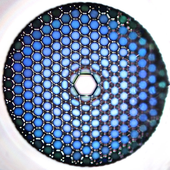 Hollow Optical Fibers for UV Light
