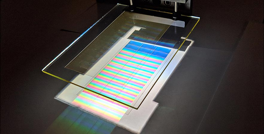 Study shows new holographic light collector can Improve solar panel efficiency