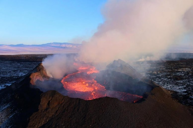 Holuhraun Lava Eruption 2014 2015