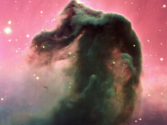 Horsehead Nebula in the Orion constellation