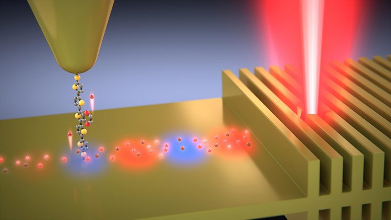 Hot Electrons in Thin Gold Film