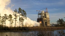 Hot Fire RS-25 Engine Test