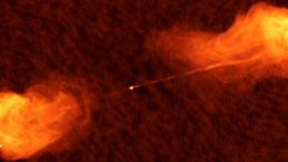 Hotspots in an Active Galactic Nucleus