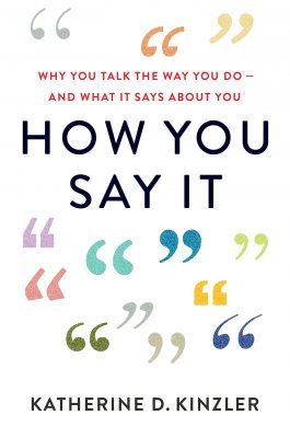 How You Say It Book Cover