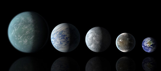 How to Distinguish between Cloudy Mini Neptunes and Water Dominated Super Earths