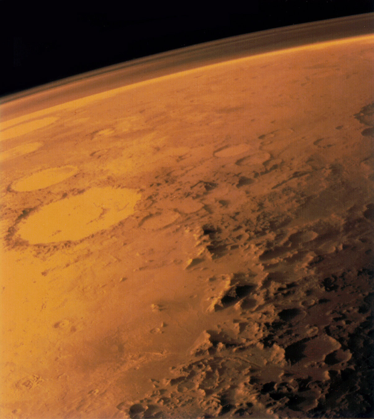 spacecraft of the astronauts on mars - photo #25
