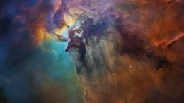 Hubble 28th Anniversary View of Lagoon Nebula