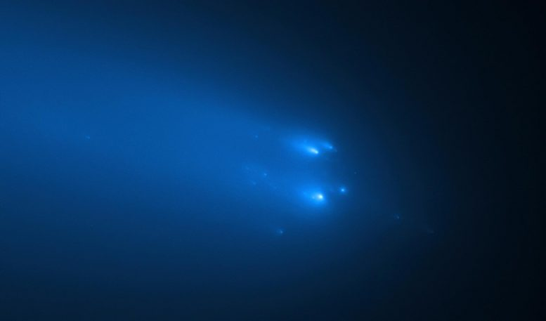 Hubble Observation of ATLAS Comet on April 20, 2020