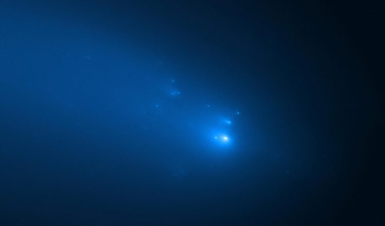Hubble Observation of ATLAS Comet on April 23, 2020