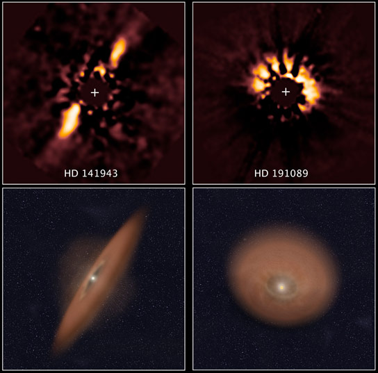 Hubble Archives Reveal Planetary Disks