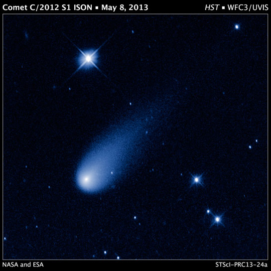 Time-Lapse Video Captures Comet ISON Heading Toward the Sun