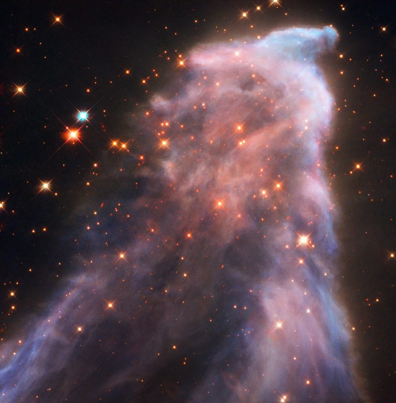 Hubble Captures the Ghost of Cassiopeia