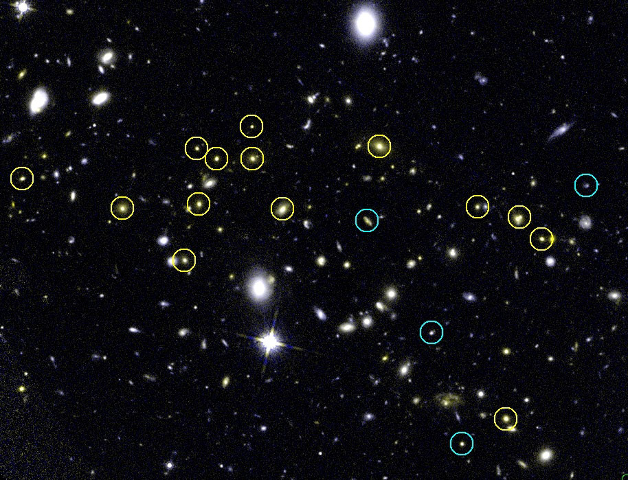 Hubble Confirms The Distance Of Galaxy Cluster Jkcs 041