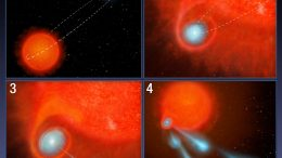 Hubble Detects Giant 'Cannonballs' Shooting from Star