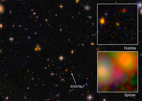 Hubble Detects the Farthest Galaxy to Date