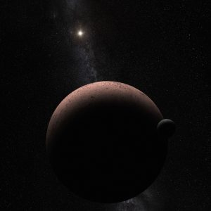 Hubble Telescope Discovers Moon Orbiting the Dwarf Planet Makemake