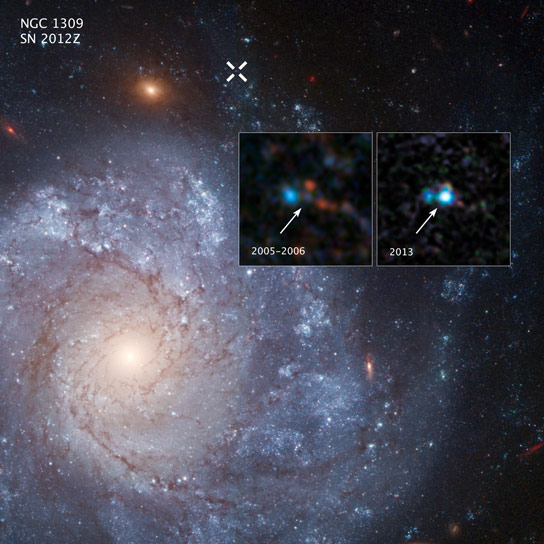 "Hubble Discovers Iax Supernova Linked to Potential ""Zombie ..."