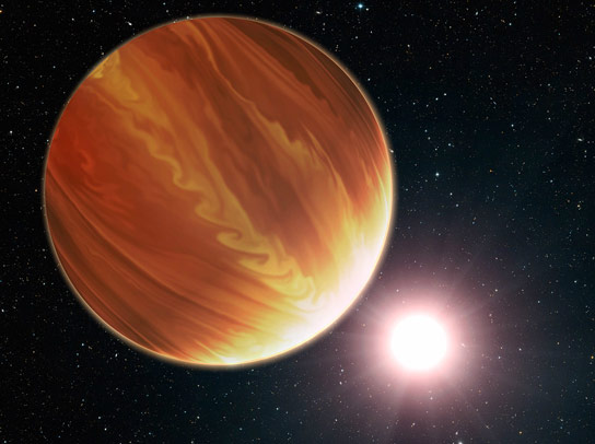 Hubble Reveals That Three Hot Jupiters Are Surprisingly Dry