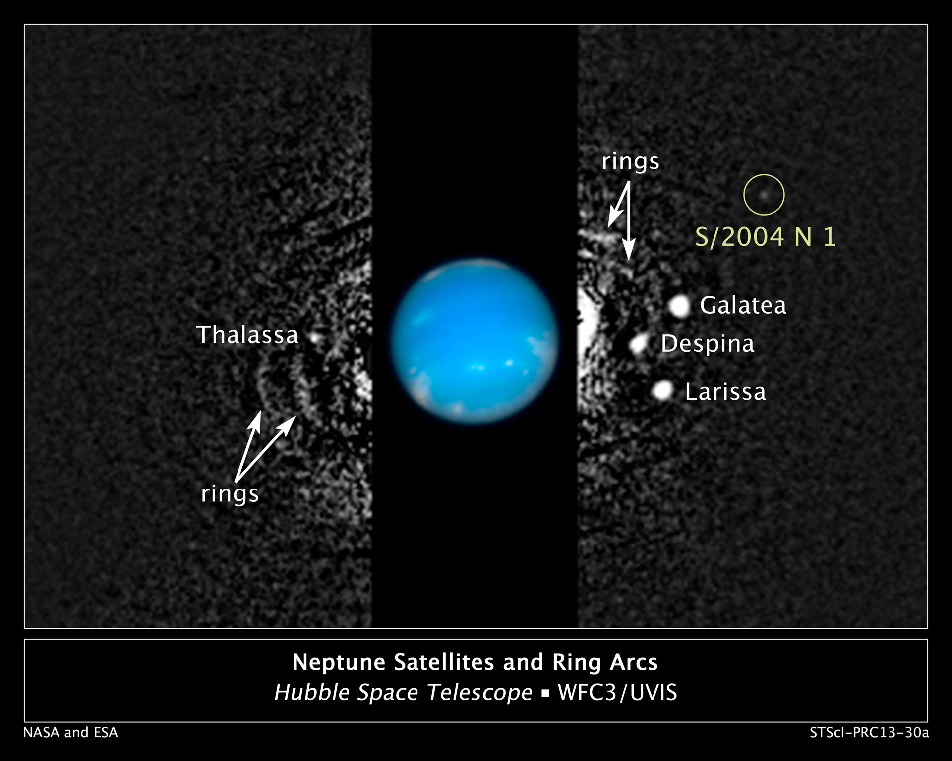 Hubble Data Reveals a New Neptune Moon