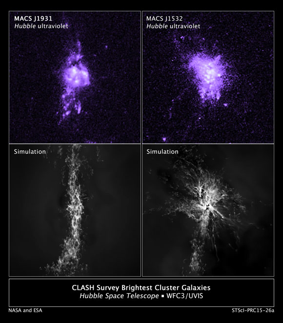 Hubble Finds Evidence of Galaxy Star Birth Regulated by a Black-Hole