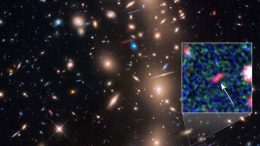 Hubble Finds Faint Compact Galaxy in the Early Universe