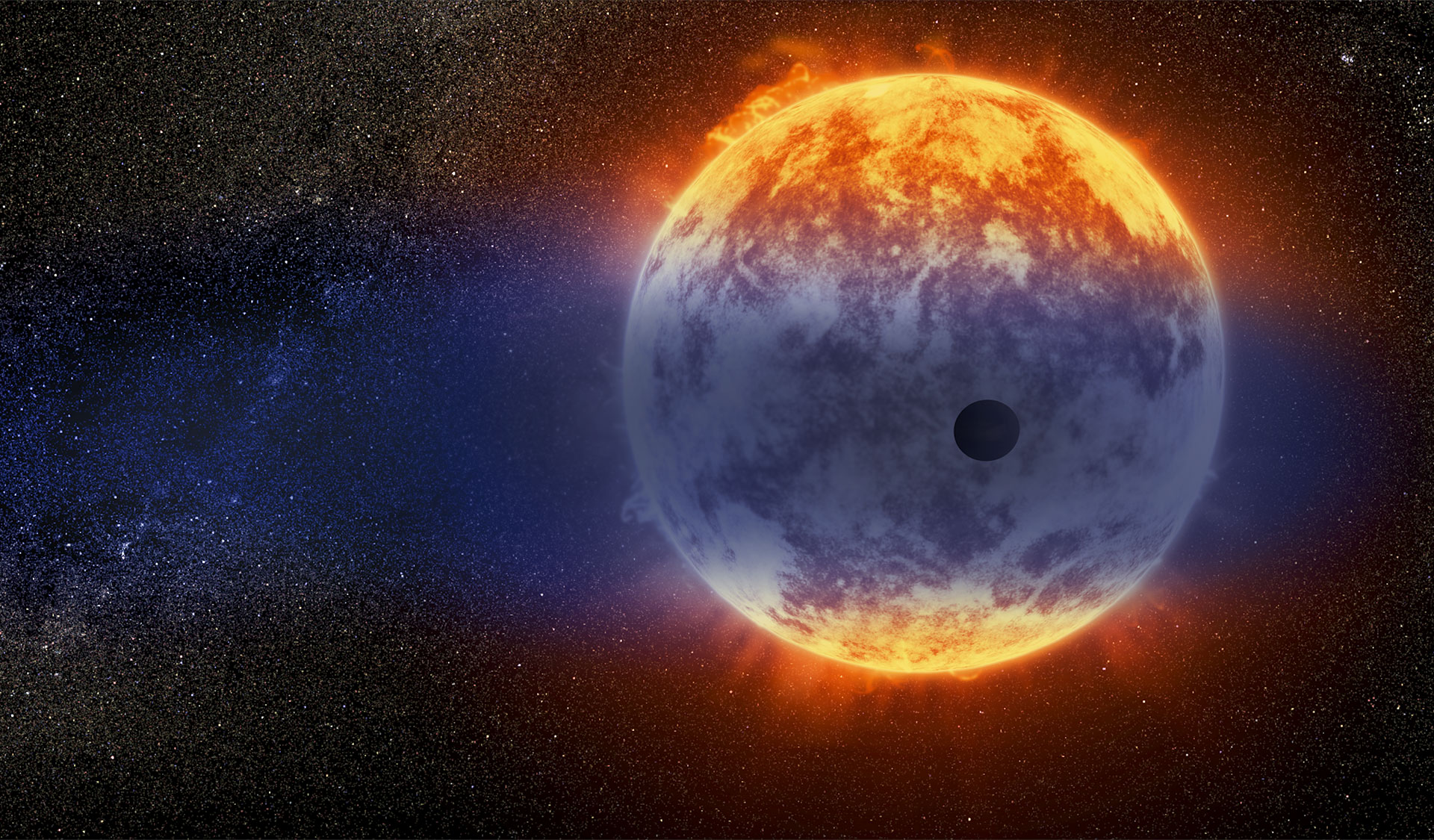 Hubble telescope discovers planet vanishing at record speed