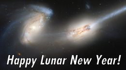 Hubble Happy Lunar New Year