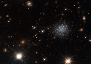 Hubble Image of Dwarf Galaxy LEDA 677373