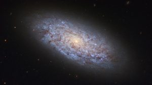 Hubble Image of Dwarf Galaxy NGC 5949
