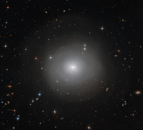 Hubble Image of Lenticular Galaxy PGC 10922