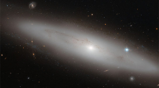 Hubble Image of NGC 4866