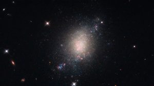 Hubble Image of Spiral Galaxy ESO 486-21