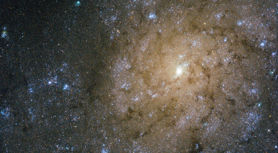 Hubble Image of Spiral Galaxy NGC 7793